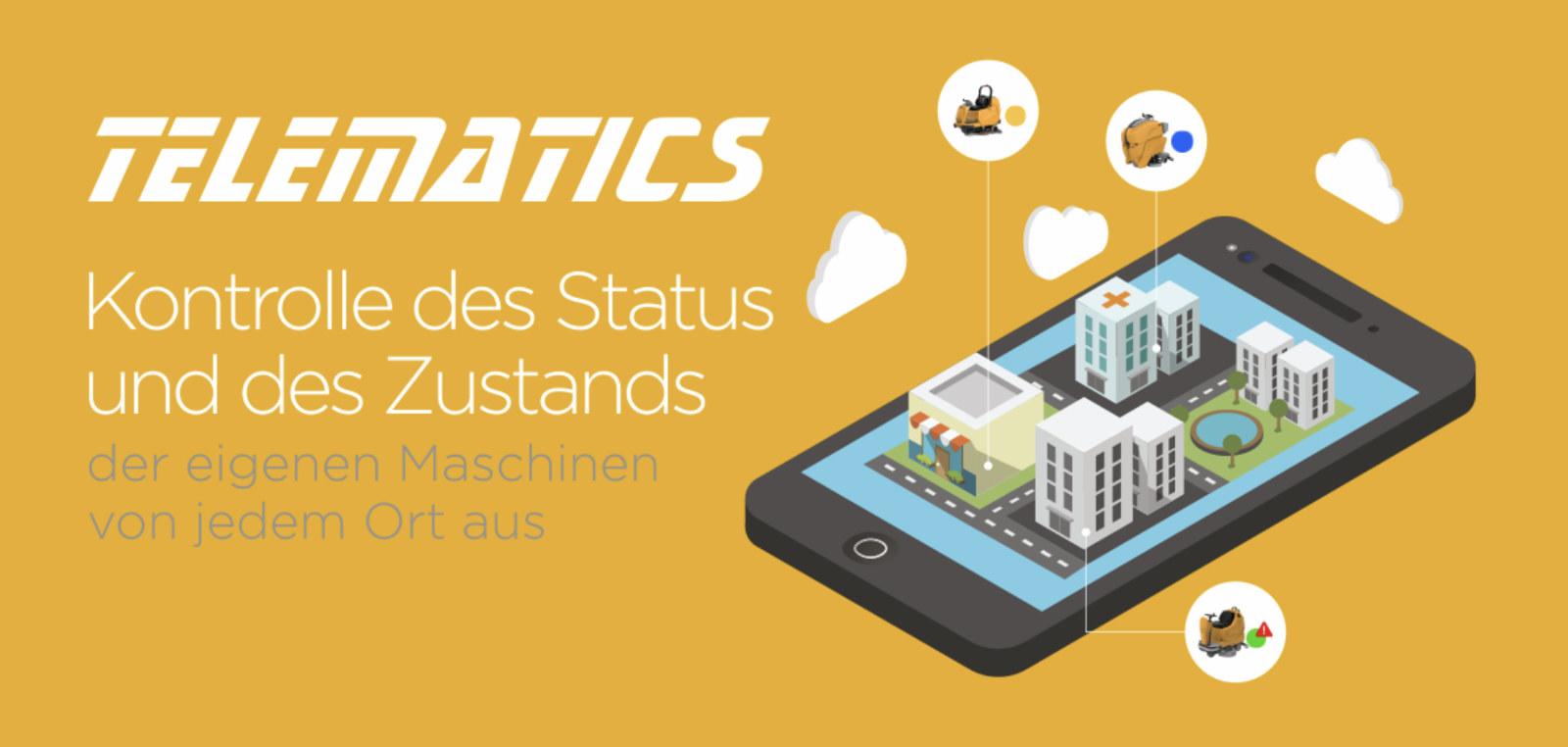 Telematics FL Reinigungstechnik - Reinigungsgeräte von adiatek - Desinfektion mit Ozon made in Italy - Jetzt auch in München